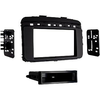 Metra 99-7355B Single and Double DIN Car Stereo Installation Dash Kit for 2014 and Up Kia Sorento Black