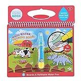 kit di pittura ad acquerello per bambini libro pittura magica colorare portatile libro da disegno con pennarello ad acqua bambini imparano presto il giocattolo istruzione disegno giocattolo(dinosaur)