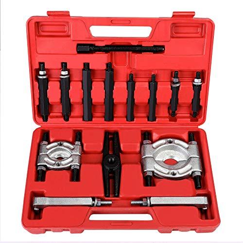 Bearing Puller Set, 5-Ton-Capacity Bearing Separator, Wheel Hub Axle Puller Set, Pinion Bearing Removal Tool Kit, Bearing Splitter
