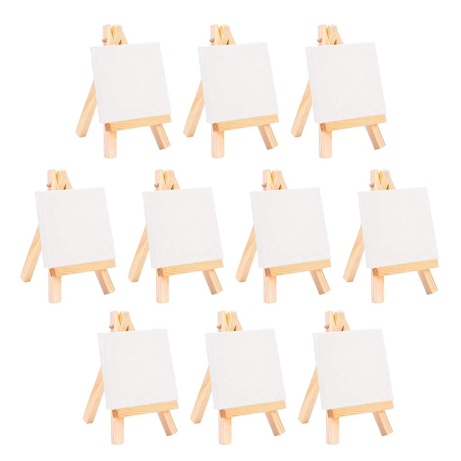 残忍な協力するアンデス山脈Perfeclan イーゼル 木製イーゼル 画材 写真 キャンバス ホビー 画材 手芸 ディスプレイ 簡単に折りたたみ 調節可能