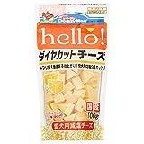 ドギーマン 犬用おやつ hello! ダイヤカットチーズ チーズ 100g×6個 (まとめ買い)