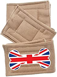 Pet Flys British Bone Flag Peter Pads (3 Pack), X-Large
