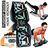 &Other Sports Liegestütze Brett - Push Up Board mit Schlaufen Bändern - Deutsche Trainingsanleitung - Designed in Deutschland