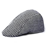 #N/A Fashion Kids Baby Girl Boy Beret Hat Peaked Cap Child Leisure Cap Hats - Black+White
