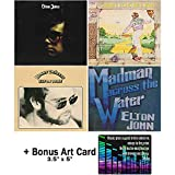 Elton John: Classic Studio Albums Collection - 4 CDs (Elton John / Madman Across the Water / Honky Chateau / Goodbye Yellow Brick Road) + Bonus Art Card