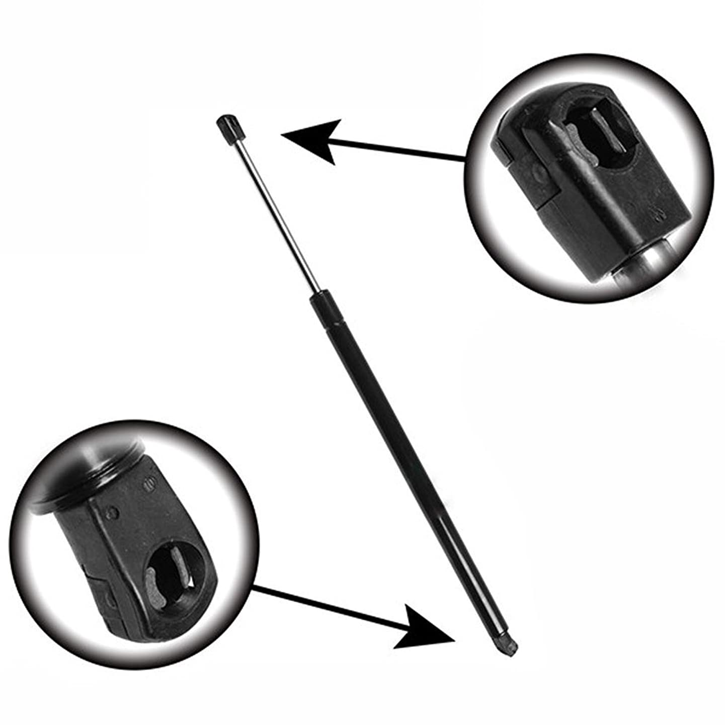 Qty (2) StrongArm 6670 Rear Liftgate Hatch Tailgate Lift Supports Struts Shocks W/O Power Gate