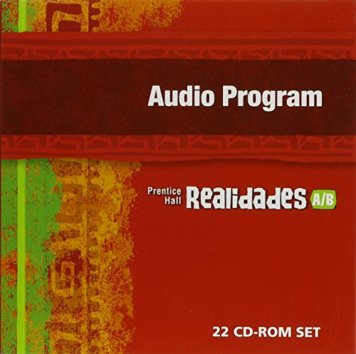 PRENTICE HALL SPANISH REALIDADES AUDIO PROGRAM LEVEL A/B FIRST EDITION 2004