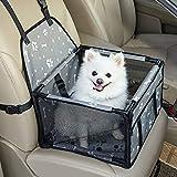 GENORTH Seggiolino Auto per Cani Dog Car Seat Aggiorna Seggiolino Auto Booster per Cani con Coperta...