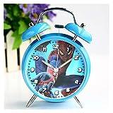 JSJJAYU Despertador Reloj despertador de dibujos animados co