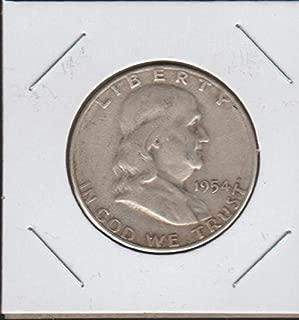 1954 S Franklin (1948-1963) Half Dollar Very Good