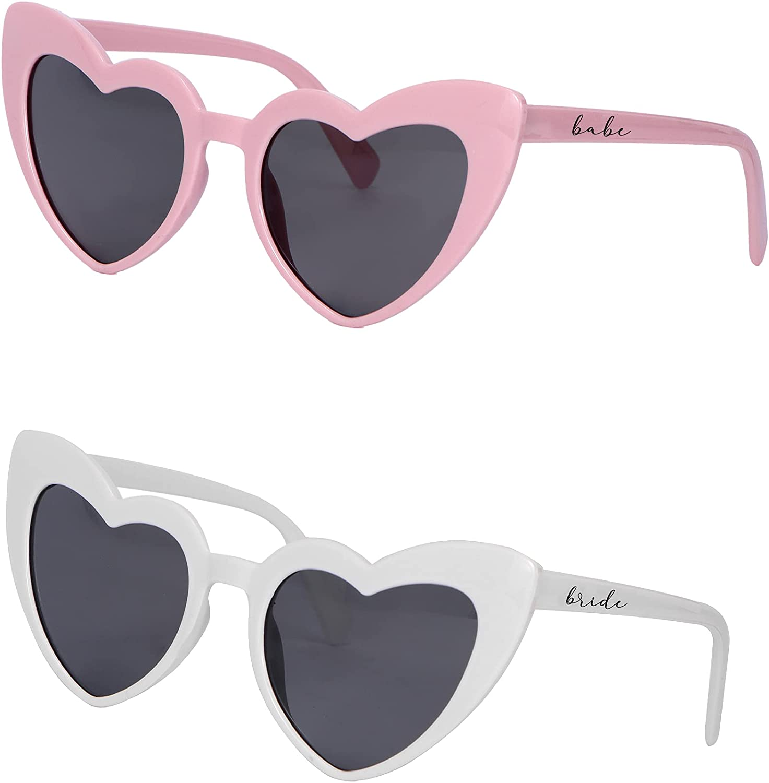 Bachelorette Party Retro Very popular Sunglasses online shopping Heart