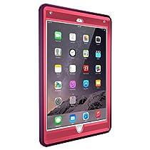 【日本正規代理店品】OtterBox Defender for iPad Air 2 - ディフェンダー CRUSHED DAMSON (ブレイズピンク/ダムソンパープル) 耐衝撃ケース OTB-PD-000013