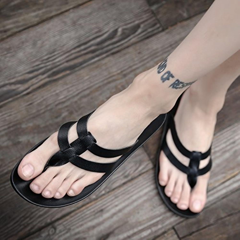 AIHUWAI Sandals Men Sandals Summer Flip-Flops Men Non-Slip Flip Feet Sandals Men'S Sandals & Slippers Outdoor Sandals Students