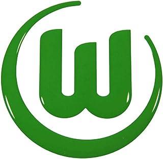 VfL Wolfsburg Autoaufkleber Logo 3D grün