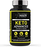 Keto Diet Pills for Men & Women - 60 Capsules - Weight Loss Advanced Keto Pro Plus Tablets Contains MCT Oil - Slimming Food Supplement by The Intelligent Health