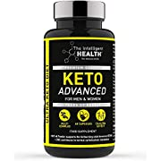 The Intelligent Health Keto Diet Pills for Men & Women | 60 Capsules | Advanced Keto Tablets with MCT Oil | Slimming Food Supplement