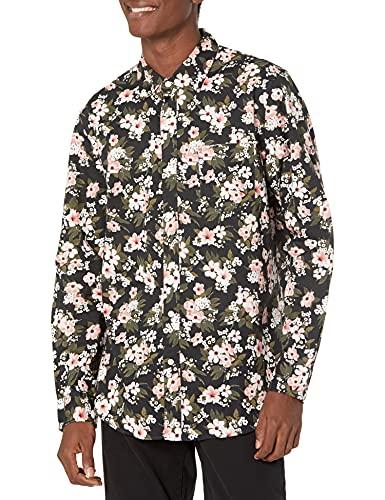 Amazon Brand - Goodthreads Men's Standard-Fit Long-Sleeve Poplin...