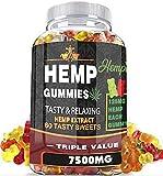 Hempies Hemp Gummies - 7500 Mg - 60 Tasty Gummies Infused with Hemp
