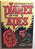 Planet of the Apes MAGNET 2'x3' Refrigerator Locker Trading Card Wrapper Gum