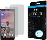 Crocfol Schutzfolie vom Testsieger [2 St.] kompatibel mit HTC U12 Plus - selbstheilende Premium 5D Langzeit-Panzerfolie -inkl. Veredelung - für vorne, hüllenfre&lich