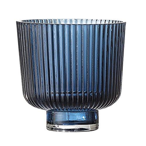 Bloomingville Teelichthalter, blau