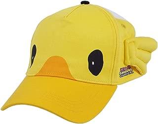 Unisex FF15 Carnival Choco-Mog Baseball Cap Yellow Chokobo Mog Cartoon Snapback Hat