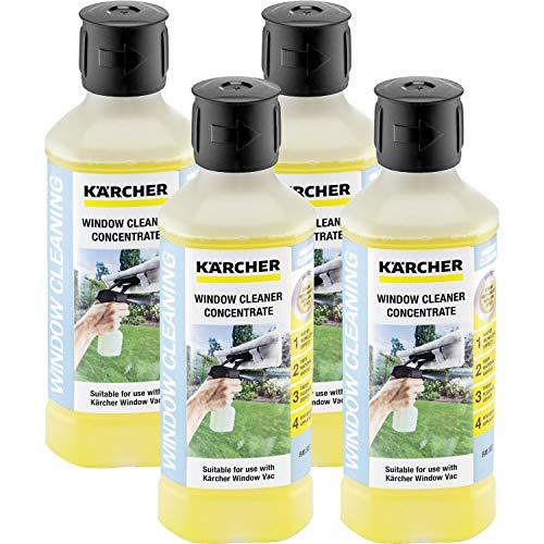 Kärcher RM 503 Fensterreiniger Konzentrat, 4er Pack (4 x 500ml)