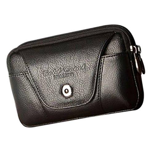 MagiDeal Sac de Taille Multifonctionnel Sacoche Mini Téléphone Portable Sac Mini Voyage