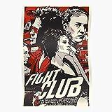 TIENHOANG Fight Club Movie Pitt Brad Film Das