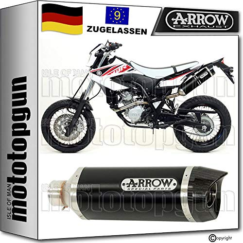 ARROW Thunder Black (Slip-On) | Yamaha WR 125 (2009 - 2010)