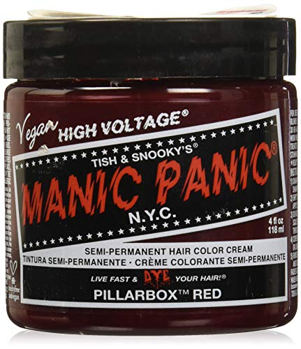 Manic Panic - Coloration semi-permanente Manic Panic High Voltage Classic Pillarbox Red