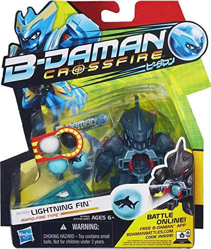 B-Daman Crossfire Aleta iluminación
