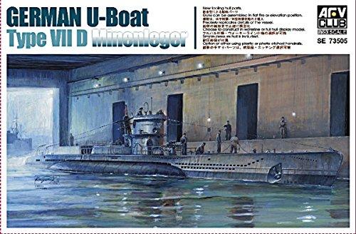 AFVクラブ 1/350 ドイツ軍 Uボート タイプ7D プラモデル SE73505