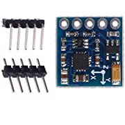 HiLetgo GY-271 QMC5883L 3-5V IIC Triple Axis Compass Magnetic Sensor Module Electronic Compass Module for Arduino