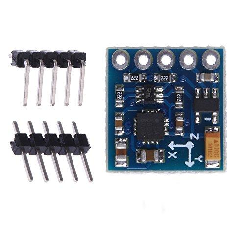 HiLetgo GY-271 QMC5883L 3-5V IIC Triple Axis Compass Magnetic Sensor Module Electronic Compass Module for Arduino