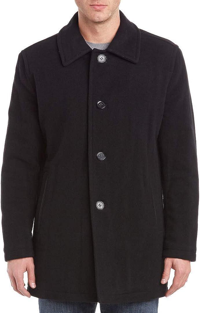 Cole Haan Signature Men's Wool Plush Car Coat at  Men's Clothing store