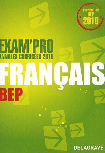 Français BEP