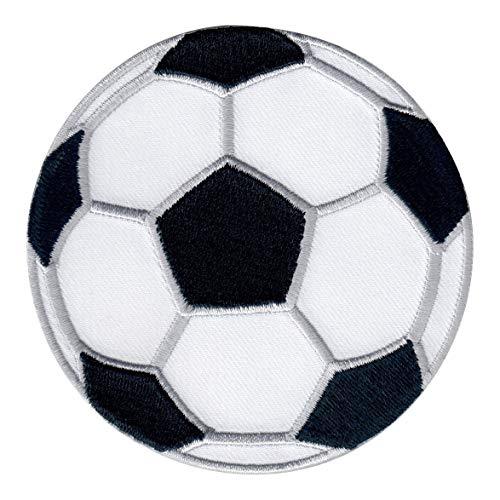 PatchMommy Fußball Fussball Patch Aufnäher Applikation Bügelbild Ball Sport - zum Aufbügeln oder Aufnähen - für Kinder/Baby