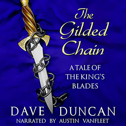 Gilded Chain audiobook cover art