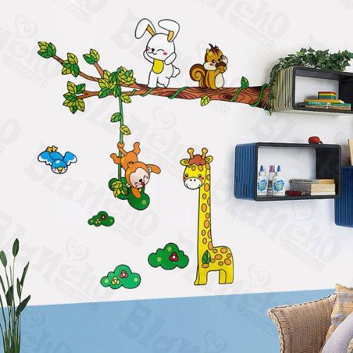 Girafe amis – Patchs à XL Stickers muraux Stickers Home Decor