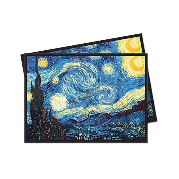 Ultra Pro Fine Art Series The Starry Night Standard (Magic) Deck Protector Sleeves...