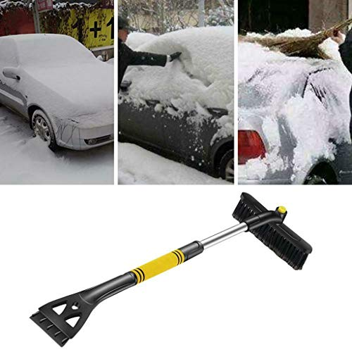 Review Of Fine Car Snow Ice Removal Shovel, Retractable Brush Scraping Frost Winter Tool PVC Materia...