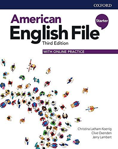 American English File Starter Student Book Pk - 03Edition
