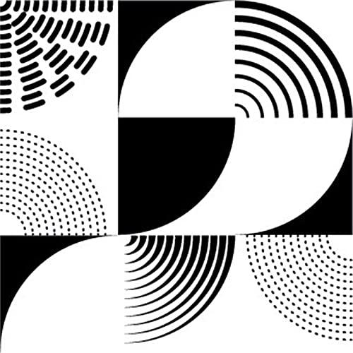 Pegatinas Cuadradas 3D Para Azulejos Autoadhesivas 20 Piezas, Creativo Antideslizante Azulejos Decorativos Impermeable PVC Pared Adhesivo Para Azulejos Papel Adhesivo Para Cocina,10X10cm(3.9x3.9in)