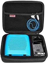 BOVKE Speaker Case for Soundlink Color II Wireless Speaker Hard EVA Shockproof Carrying Case Storage Travel Case Bag Protective Pouch Box, Black