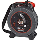 RIDGID 35188 SeeSnake L100C MicroReel Video Inspection Camera with Sonde and Counter, Pipe Inspection Camera and Transmitter (CA-350 Compatible),Black