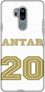 AMZER Slim Fit Handcrafted Designer Printed Snap on Hard Shell Case Back Cover Skin for LG G7, LG G7 ThinQ - Soccer - Anta...