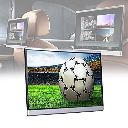 TERMALY Monitor Universal para Reposacabezas De Coche De 13,3 Pulgadas Android 7,1/2 + 16G / 8 Core / 4K, Pantalla De TV para Coche, Reproductor Multimedia De Entretenimiento Trasero De Coche HD