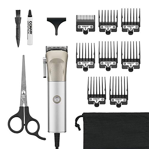 ConairMAN HC6000 Metalcraft High Performance Professional Metal Hair Clipper, Home Haircut Kit, 1 count