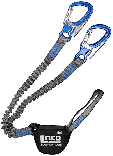 LACD Klettersteigset Pro Evo Blue